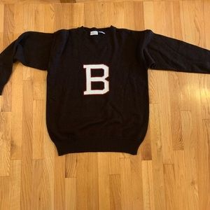 Sweaters - Vintage Brown University Letter Sweater